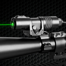 купить Laserspeed Power Adjustable Rifle Sight Laser Green for Hunting Shooting Picatinny Laser Pointer with Pressure Switch по цене 4031.7 рублей