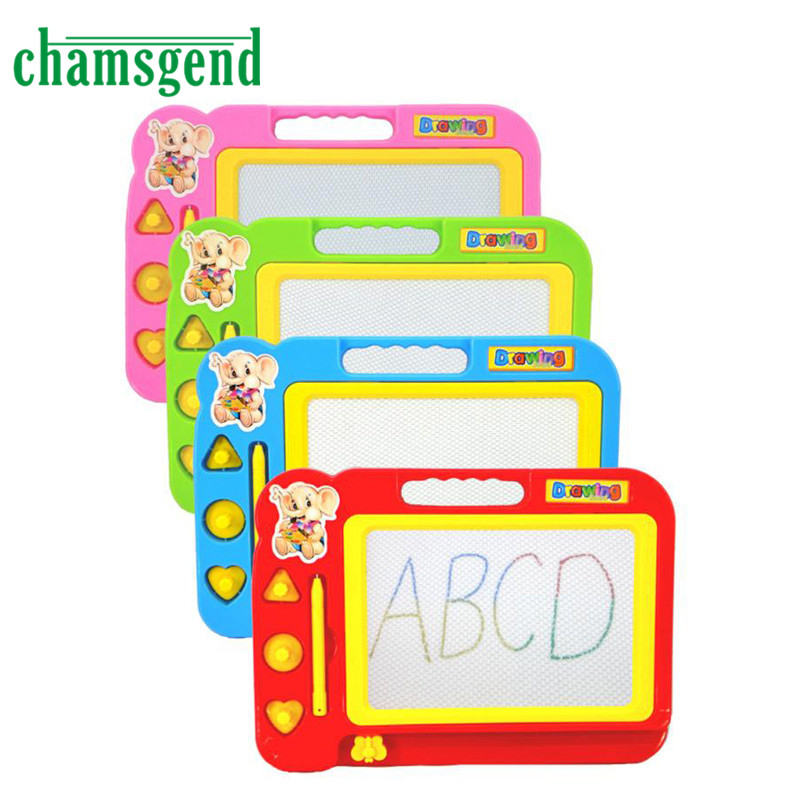 HOT Kid Color Magnetic Writing Painting Drawing Graffiti Board Toy Preschool Tool AUG 29