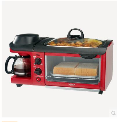 Baked omelette and coffee multifunction triple toaster Toaster automatic disk new breakfast bar omelette