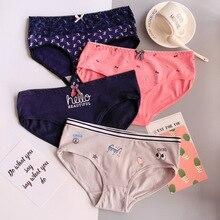 2019New Fashion 4Pcs/Lot Girl Panties Cartoon Underwear Cotton Briefs Set Cute Lingerie Soft Comfortable Panty C807