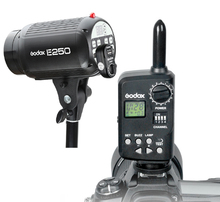 Fotografia Studio Strobe Flash Godox E 250 W Lekka Głowa + FT-16 Bezprzewodowy Spust