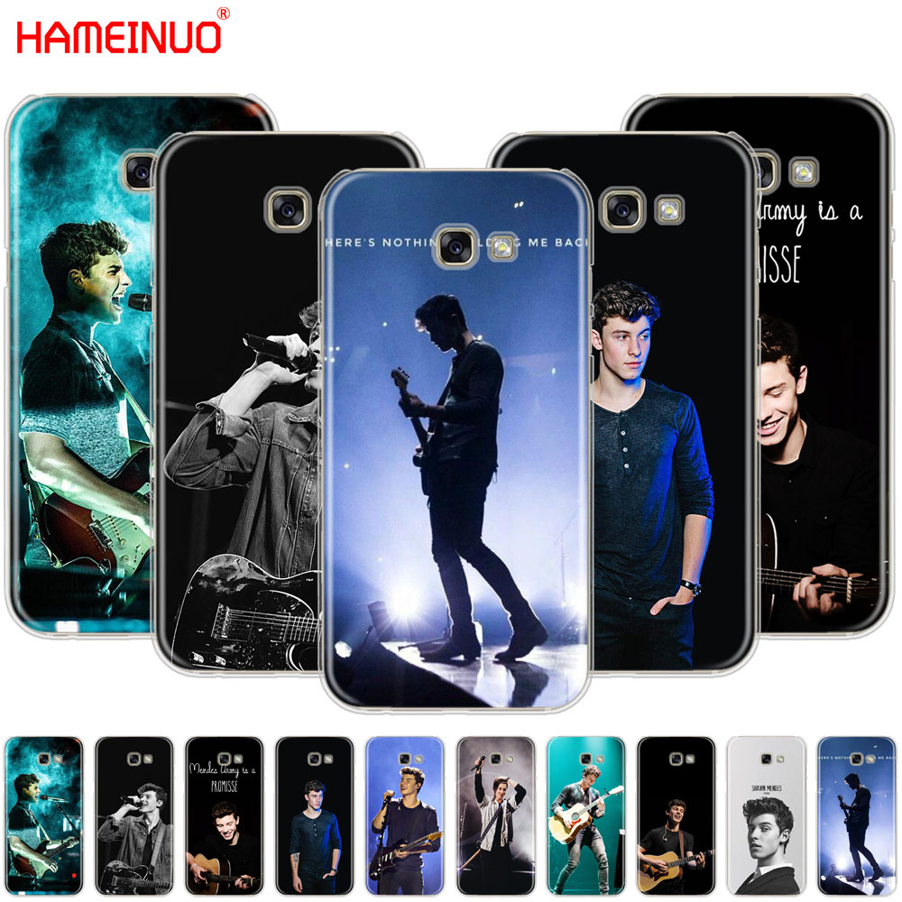 HAMEINUO Hit pop singer Shawn Mendes Magcon cell phone case cover for Samsung Galaxy A3 A310 A5 A510 A7 A8 A9 2016 2017 2018