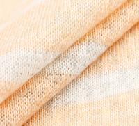 New Striped silber terry strick baumwolle wolle stoff für Pullover, freizeitkleidung, mantel feltro tweed jacquard brokat B311