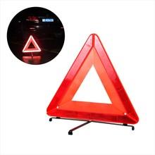 2017 Plegable Trípode Emergencia Del Coche Reflexivo Automóvil de Tráfico de Advertencia señal de stop car styling Aparcamiento ayudar Cartel