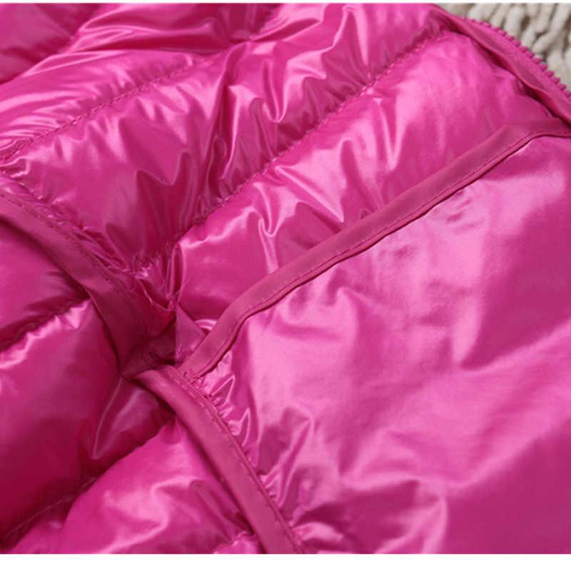 ผู้หญิงผู้ชายฤดูหนาวฤดูใบไม้ร่วงบาง hooded down coat หญิง plus ขนาด 3XL เสื้อแจ็คเก็ตหญิง slim candy สี parka jaqueta feminina