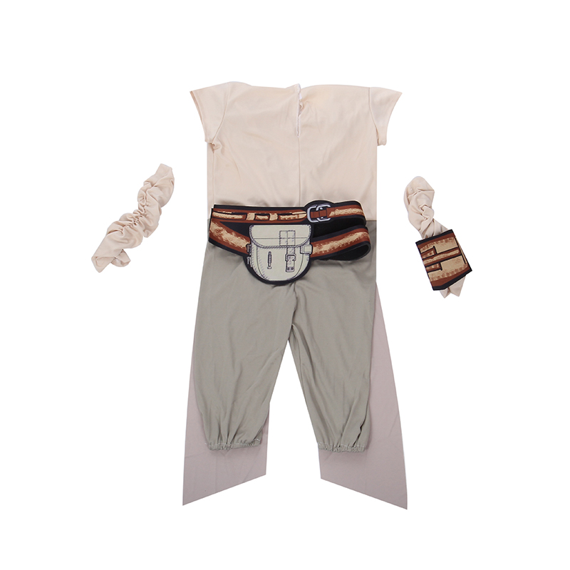 Child Rey Star Wars Costume 2017 New The Force Awims Fancy Girls - Carnavalskostuums - Foto 4