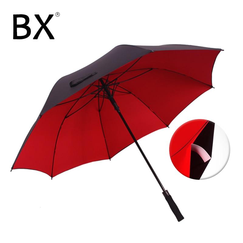 Bachon 130cm large umbrella male golf rain umbrella windproof double-layer auto-open long handle umbrella female male