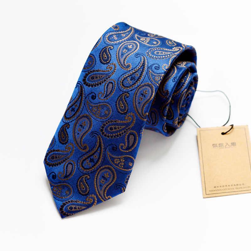 SHENNAIWEI 1200 Aghi 7 centimetri cravatta per gli uomini gravatas di alta qualità jacquard di nozze cravatta Sottile corbatas hombre 2017 nuovo Business