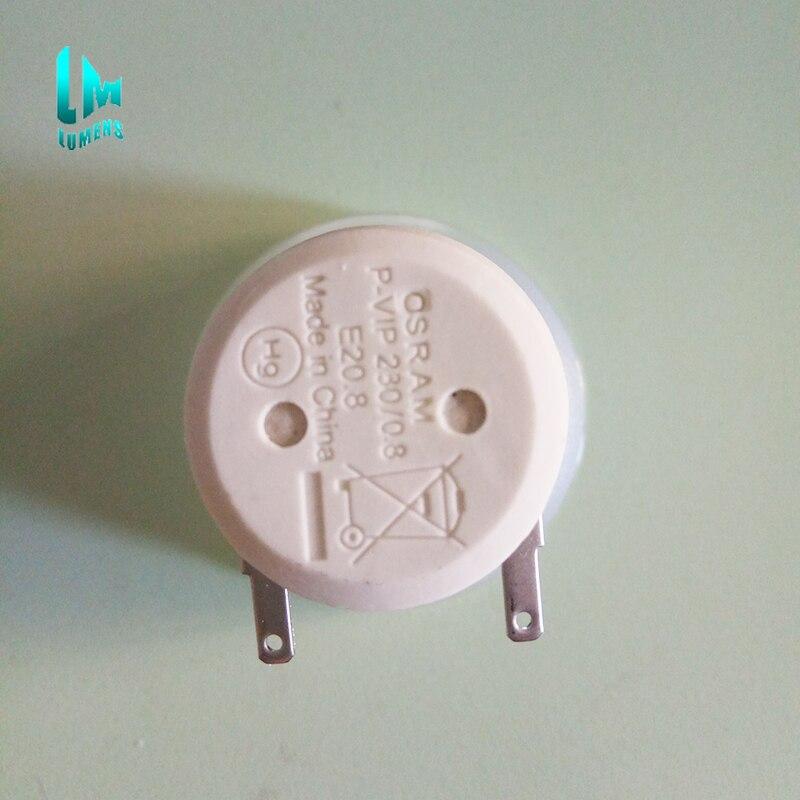 Original P-VIP 230/0.8 E20.8 projector lamp bulb with high quality brightness for Osram 230w 180 days warranty