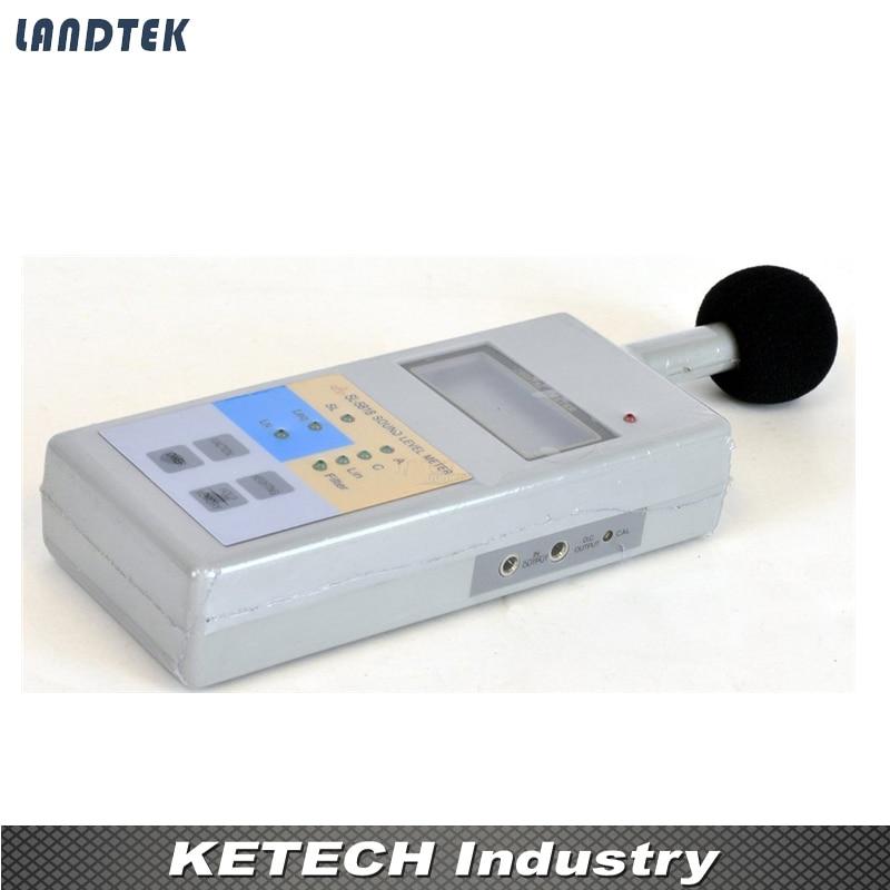 SL5818 Digital LCD Sound Noise Level Meter Decibel Monitor Tester 40-130dB digital lcd sound level meter sl 5826 noise meter decibel monitor tester sl5826