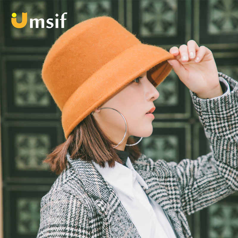 3e107d19b Detail Feedback Questions about 2018 New Winter Women's Fedoras Hat ...