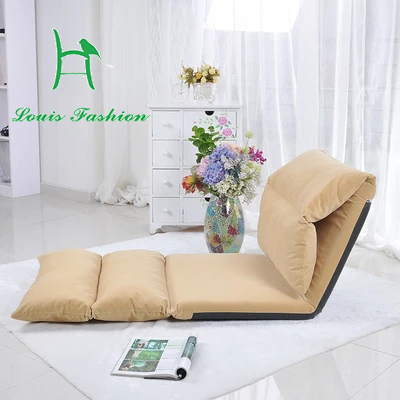 Creative Lazy Single Tatami Longer Folding Sofa Can Unpick And Wash Bay  Window Chair Recreational Chair The Japanese Cloth Art B In Living Room  Sofas From ...