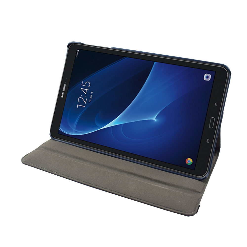 Tab A 10.1 SM T580 T585 360 Rotating Case Cover - for <font><b>Samsung</b></font> Galaxy Tab A 10.1 2016 Tablet with multi angel stand cover case