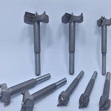 цены на Manual Tool Drill 16mm-50mm Forstner Bit Auger Boren Set Hout Gatenzaag Houtbewerking Houten Cutter Boren Voor Scharnier Venster в интернет-магазинах