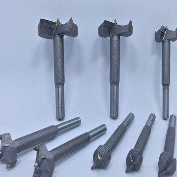 Manual Tool Drill 16mm-50mm Forstner Bit Auger Boren Set Hout Gatenzaag Houtbewerking Houten Cutter Boren Voor Scharnier Venster