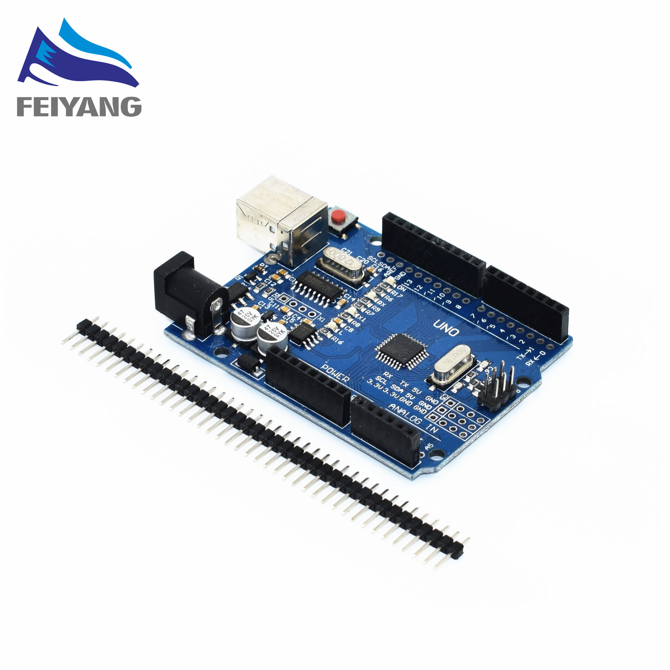 One set  black/blue/red UNO R3 CH340G+MEGA328P Chip 16Mhz UNO R3 for arduino