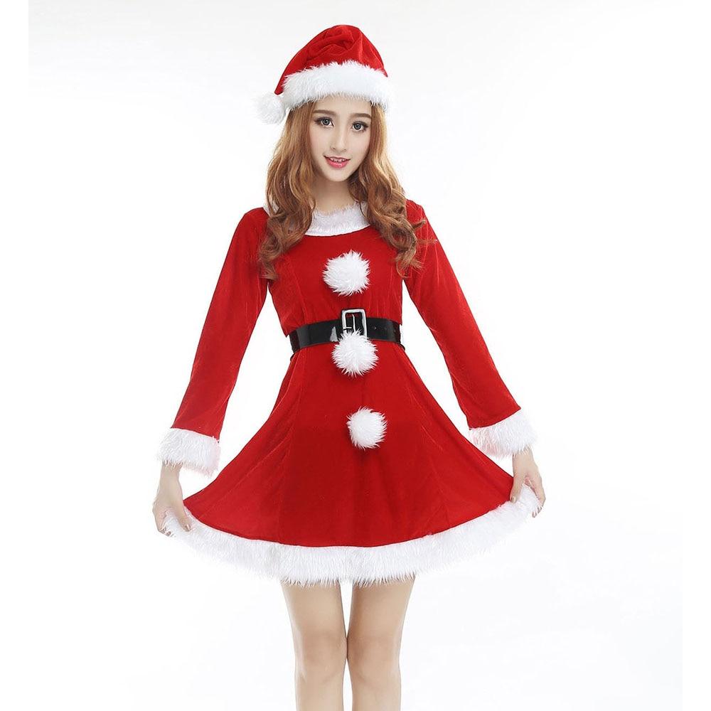Mujeres Vestido De Fiesta De Navidad Trajes De Cosplay