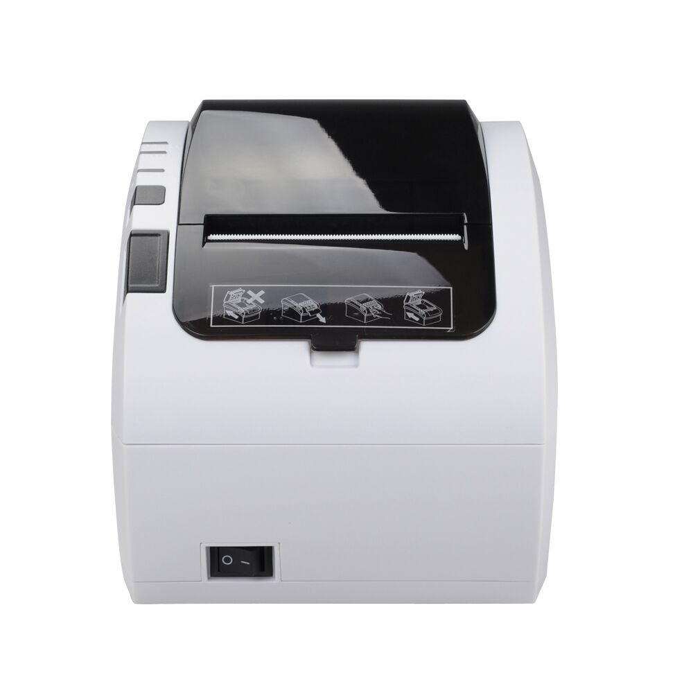 Fashional Printer 80mm Thermal Receipt Printer 1D 2D With Lan USB RS232 POSEH80300 With Auto Cutter