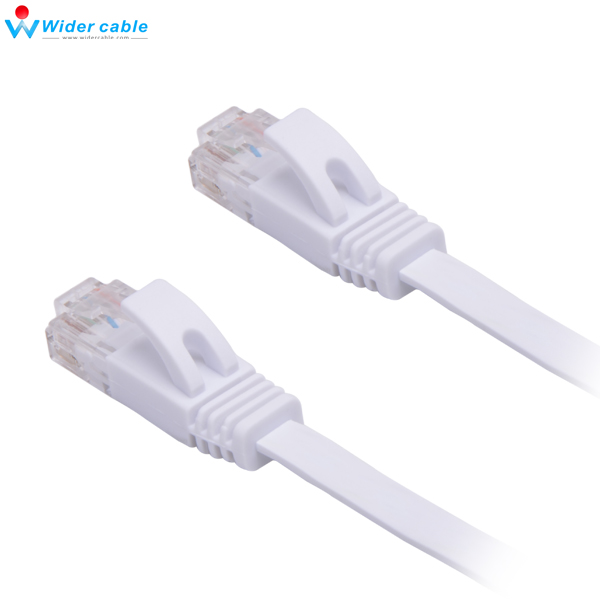 2m Network Cables Computer Cables CAT6a Ultra-Thin Flat Ethernet Network LAN Cable Length SKU : 10m