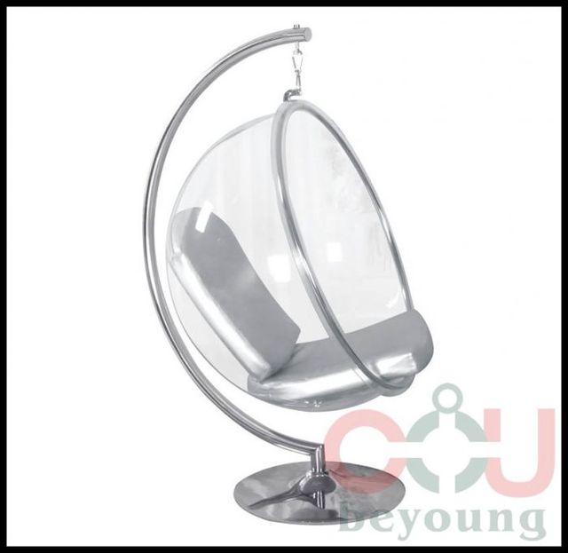 Bulle Chaise Montage Semi Cirle Acrylique Extérieure Boule - Fauteuil bulle