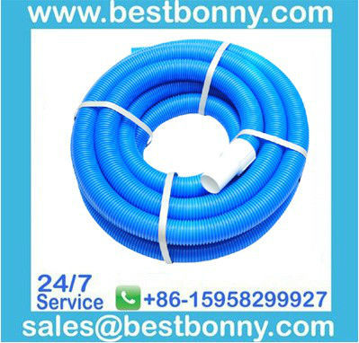 pool vacuum cleaner hose with male and female cuffs