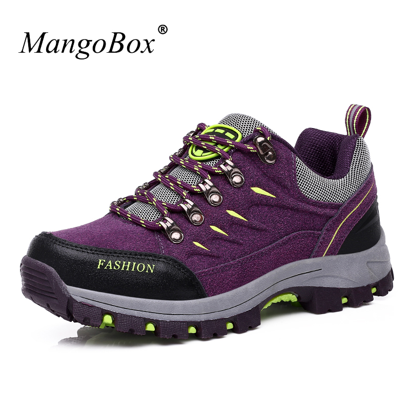 Women Hiking Sneakers Spring Autumn Outdoor Shoes Female Hard-Wearing Mountain Boots Ladies Hot Sale Trekking Trainers ...