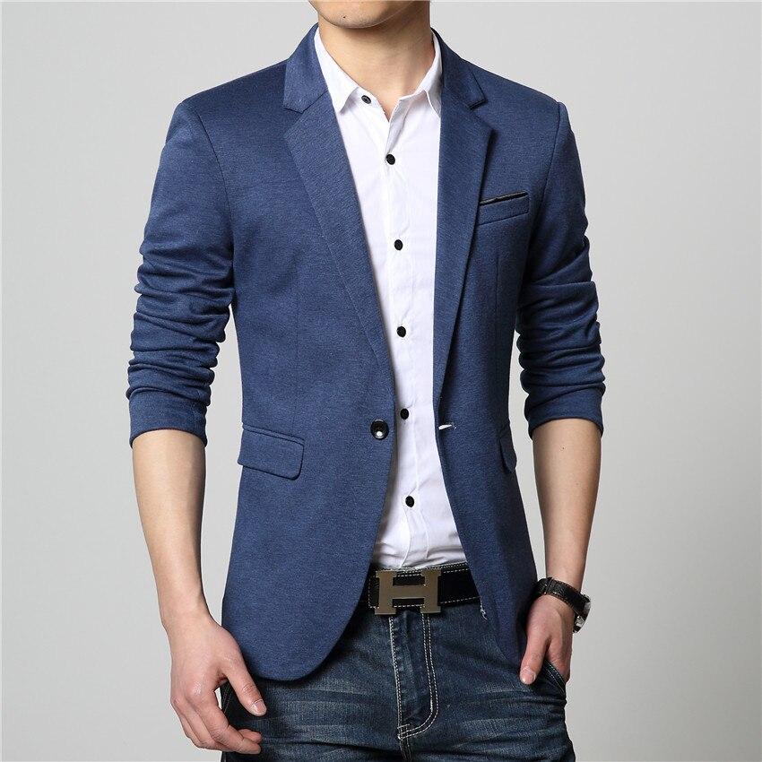 FGKKS Новое поступление Роскошный деловой повседневный костюм, мужские блейзеры, набор профессионального формального свадебного платья красивого дизайна размера плюс M-6XL - Цвет: Blue