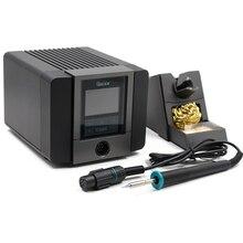 QUICK soldador eléctrico sin plomo TS1200A, estación de soldadura Digital ajustable para reparación de la placa base del teléfono