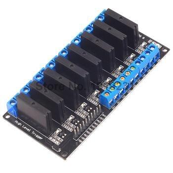 5V 12V 24V 3-24V 8 Channel Solid State Relay Module High Level