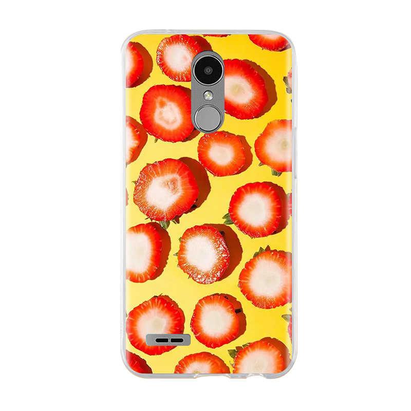 Untuk LG K10 2017 Case Cover 3D Lembut Silicone Cover Untuk LG K7 K8 K10 2017 Case Cover Coque Funda untuk LG K8 K7 K10 Case