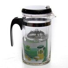 500 ml Botella de vidrio Resistente Al Calor Tetera de flor En Flor de Té Juego de té Del Puer de Café Olla Conveniente Oficina Tea Set Con infusor