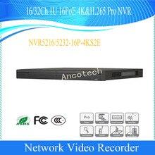 Сетевой видеорегистратор Dahua 16/32Ch 1U 16PoE 4 K и H.265 видеонаблюдения сети видео Регистраторы Pro 12MP NVR DHI-NVR5216-16P-4KS2E/DHI-NVR5232-16P-4KS2E