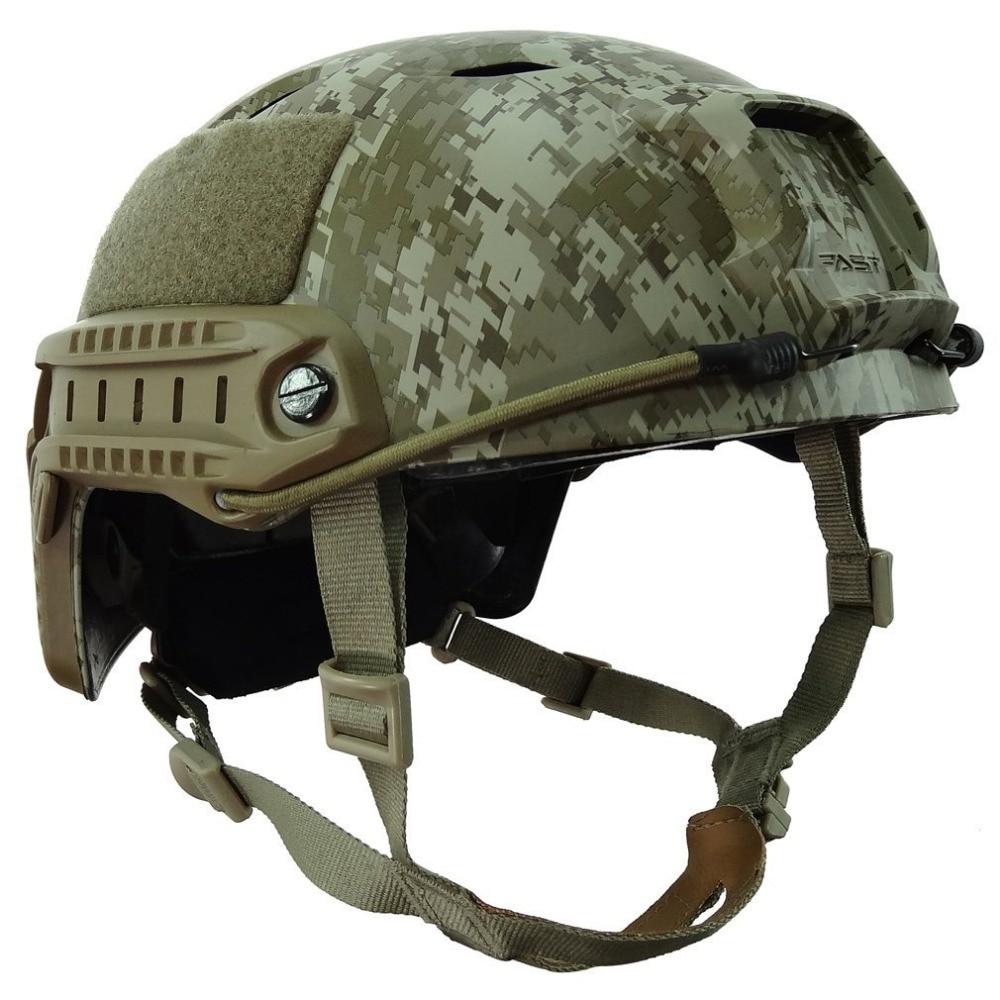все цены на VILEAD 6 Colors Tactical Lightweight Camouflage Fast BJ Type Base Jump Military Tactical Helmet Pararescue Jump Helmet Helmets онлайн