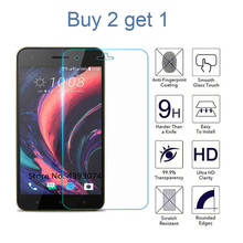 Buy 2 get 1 9H Tempered Glass For HTC 10Pro 10Evo 10Lite A17 A9S M9 U11 M10 620 816 Film Screen Protector