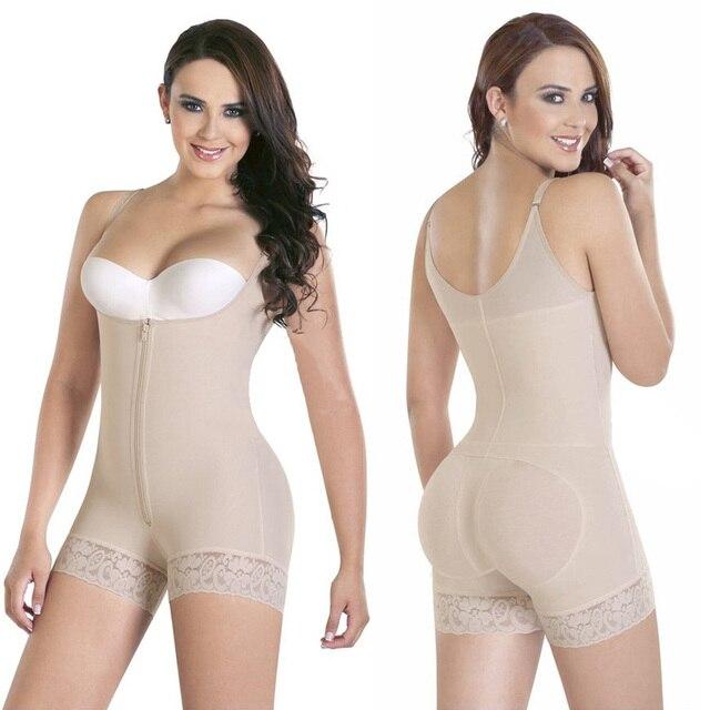 123bd21749 Women Colombian Body Shaper Compression Shapewear Bodysuit Waist Shaper  Butt Lifter New