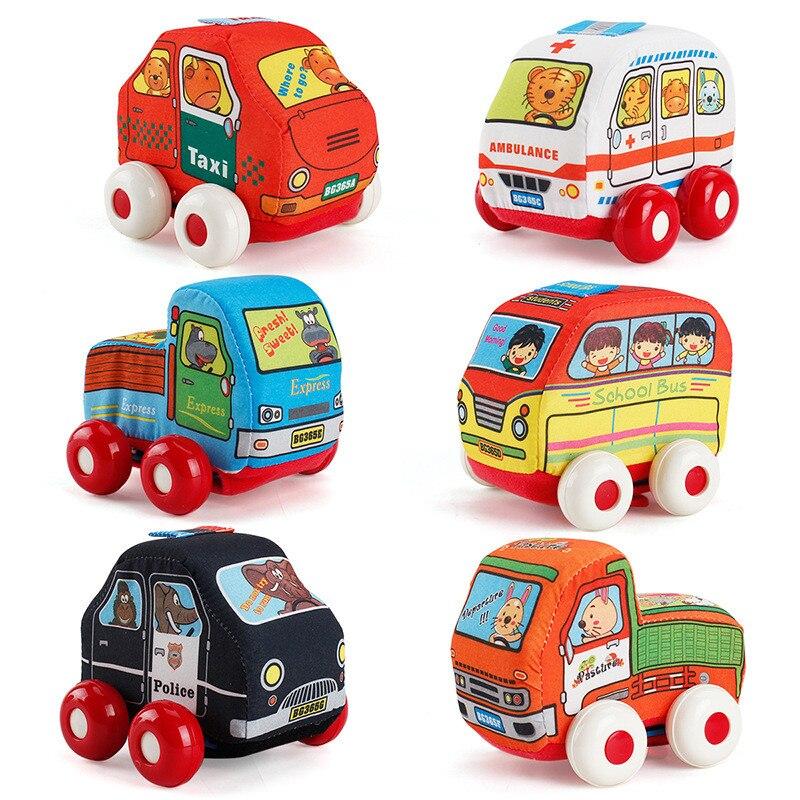 Mutig Baby Spielzeug 12 14 Monate Pull-back-fahrzeug Set 4 Autos Lkw Spielzeug Geschenke Für Kleinkinder, Kinder Weichen Brinquedos Para Bebe Baby Junge Spielzeug Seien Sie In Geldangelegenheiten Schlau