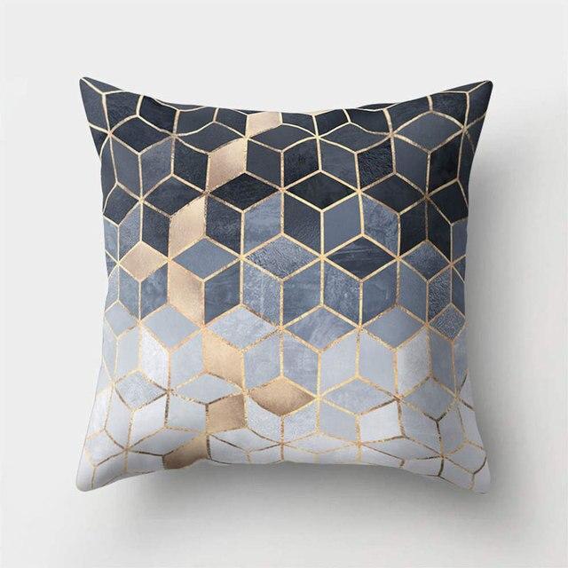 Cuscini decorativi Copertura Coperture per Cuscini Geometrica Stampato In Polies