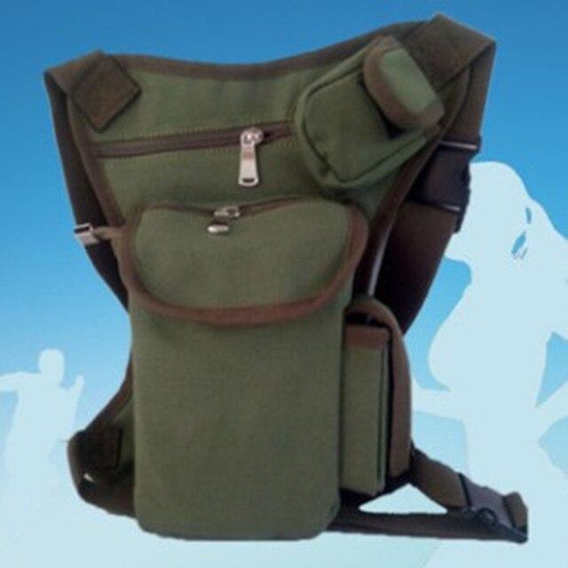Mais novo coxa gota utility bag moda de armamento militar fanny bicicleta pacote de mulheres Lazer sacos dos homens 4 cores