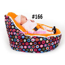Snore baby bean bag chair with harness – Feeding baby seat beanbag toddlers chairs