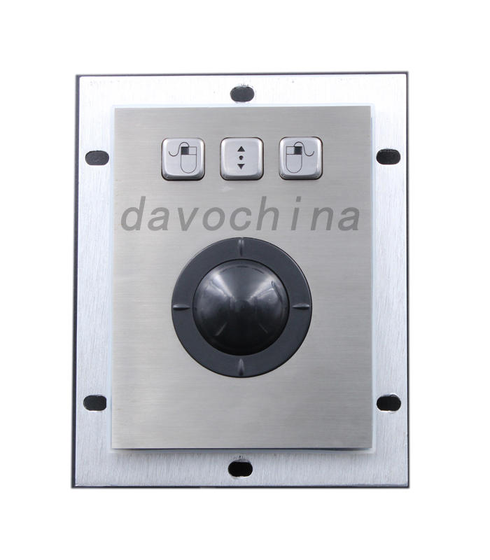 Metal Trackball with High-quality Stainless Steel Material and CE RoHS Marks