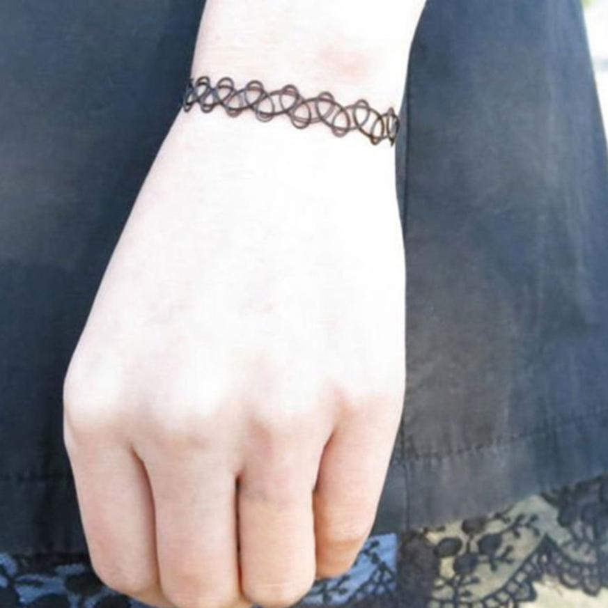 Buy Tattoo Lace Bracelet And Get Free Shipping On Aliexpress Com