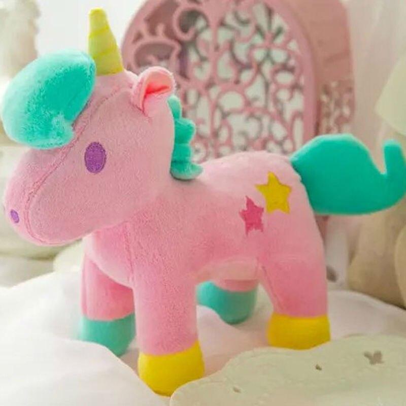 Horses Toys For Girls Birthdays : Cm plush unicorn little horse pony stuffed animals toys