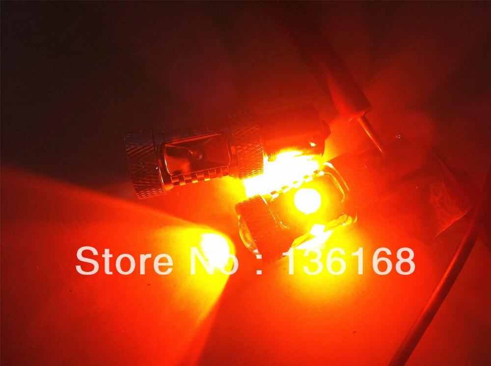 30w AMBER CANBUS ERROR PULSUZ CREE çipləri L21 P21W 382 BA15s - Avtomobil işıqları - Fotoqrafiya 3