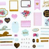 2017 Dokibook Winter Series Creative Sticker Korean Cute Stickers Notebook Planner Album DIY Decorative Gifts Stationery