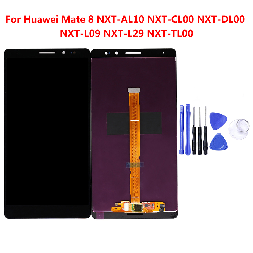 For Huawei Mate 8 6.0 inch LCD display 1920*1080 touch screen Digitizer Sensor Glass Assembly 100% Tested  with Free ToolsFor Huawei Mate 8 6.0 inch LCD display 1920*1080 touch screen Digitizer Sensor Glass Assembly 100% Tested  with Free Tools