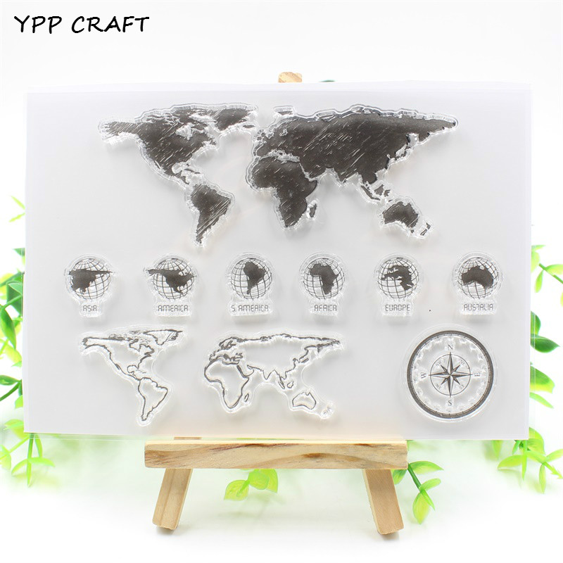 YPP CRAFT New Transparent Clear Silicone Stamp/Seal for DIY scrapbooking/photo album Decorative clear stamp about lovely baby design transparent clear silicone stamp seal for diy scrapbooking photo album clear stamp paper craft cl 052