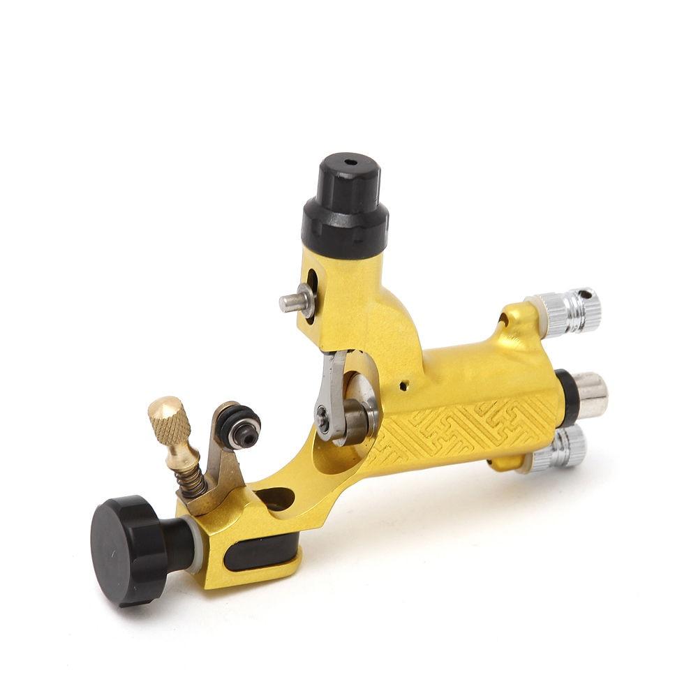 Pro New Arrival Gold Swiss Motor Rotary Tattoo Machine Gun Top Quality Supply