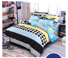 цена на Home textile bedding set Solid duvet cover set Microfiber bedclothes twin full queen king super king size bed linens bed set new