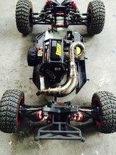 De acero hecha a mano TUNE TUBO de escape para Losi DBXL Desert Buggy XL RCMK XCR envío gratis
