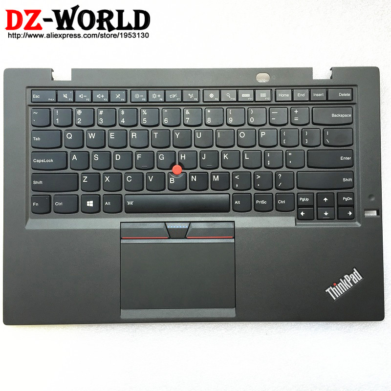 New Original for Thinkpad X1 Carbon 3rd Gen 3 TYPE: 20BS 20BT US English Backlit Keyboard with Palmrest Touchpad 00HN945 00HT300New Original for Thinkpad X1 Carbon 3rd Gen 3 TYPE: 20BS 20BT US English Backlit Keyboard with Palmrest Touchpad 00HN945 00HT300